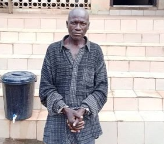 59-year-old pastor arrested for raping 10-year-old girl in Ogun (photo)