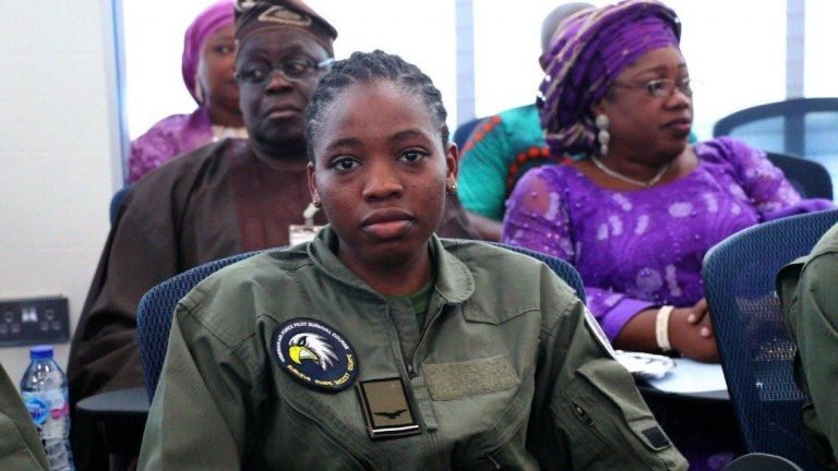 Nigerian Air force?s first female combatant helicopter pilot dies eight months after special recognition