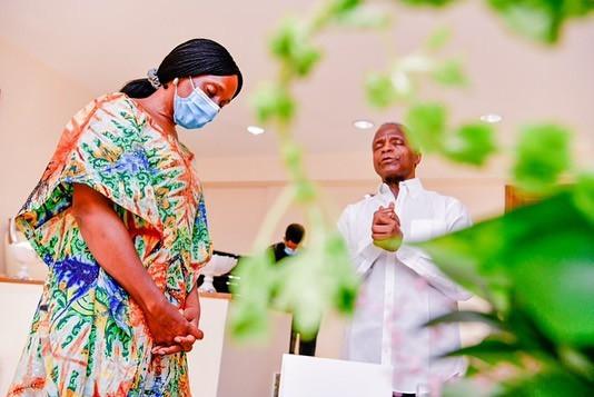 Vice President Yemi Osinbajo joins his wife, Dolapo, as she celebrates her birthday today (photos)