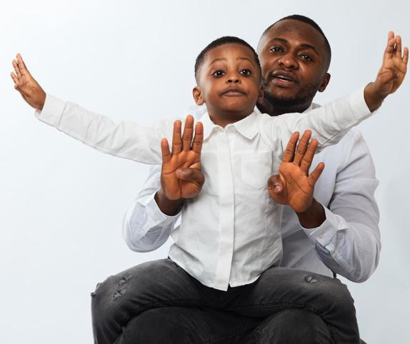 Ubi Franklin and Lilian Esoro celebrate their son as he turns 4 (photos)