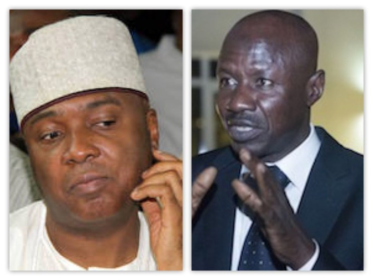 Magu took his non-confirmation as substantive chairman of EFCC against me personally - Saraki