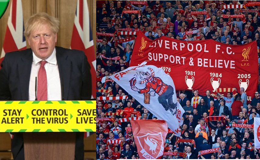 UK prime minister, Boris Johnson announces football fans should be allowed back into stadiums by October in huge boost for next season