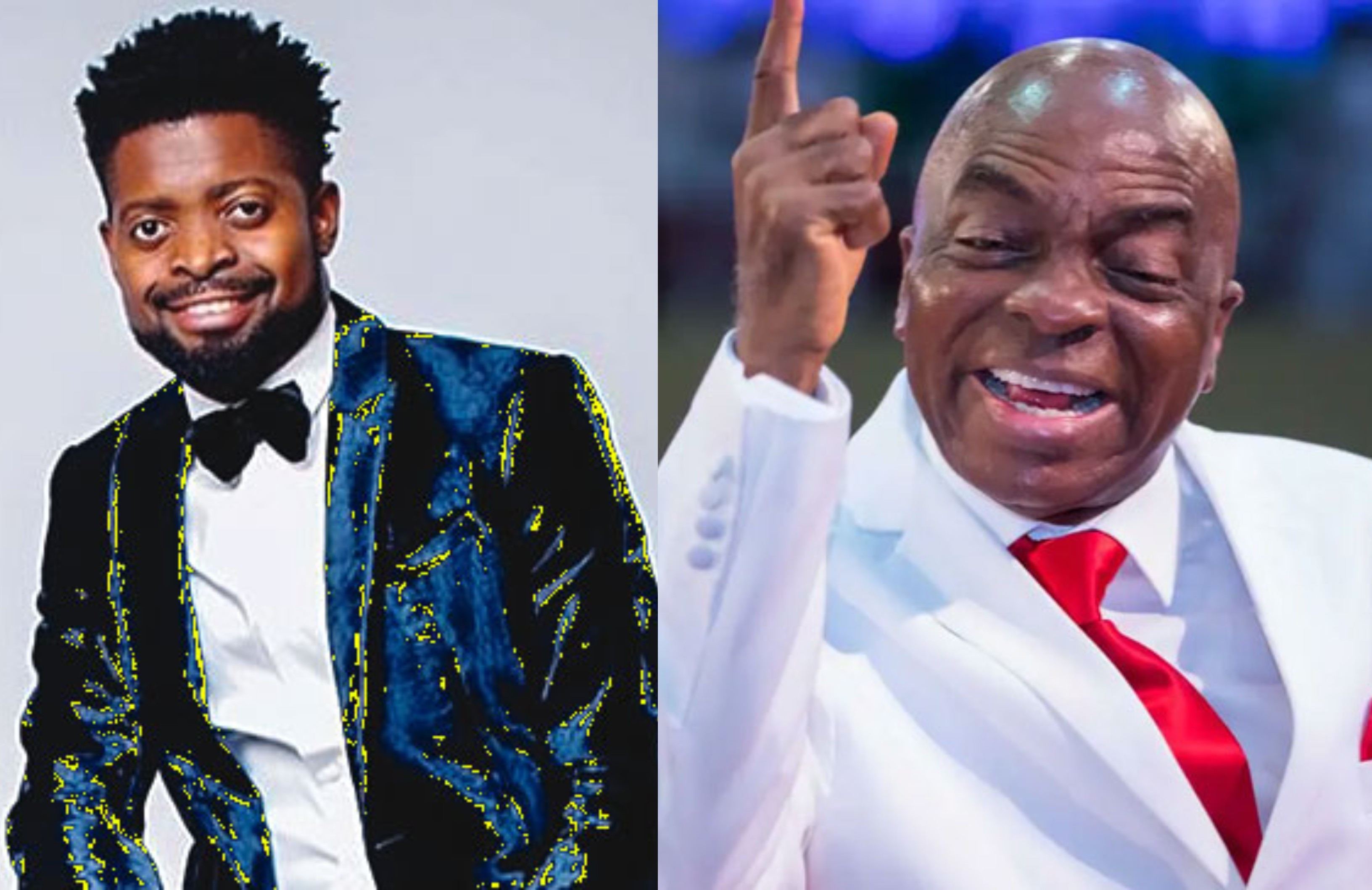 The church is now threatening us with financial curse over tithe - Basketmouth reacts to Oyedepo