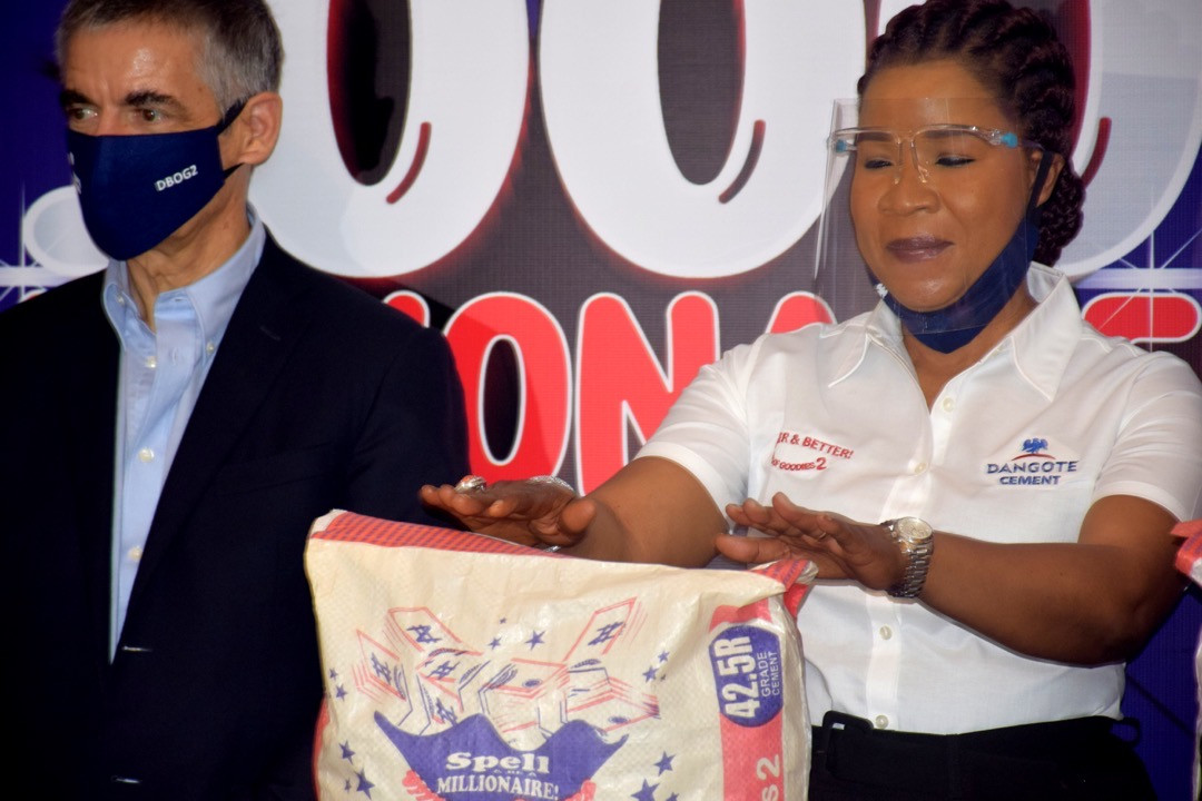 Dangote Cement Plc launches the second season of her