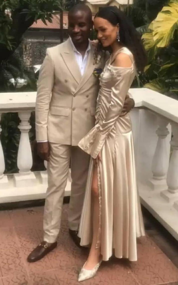 Photos from the wedding of media personality, Eku Edewor