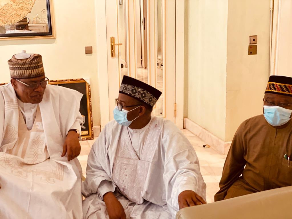 See new photos of former Head of State, Ibrahim Babangida