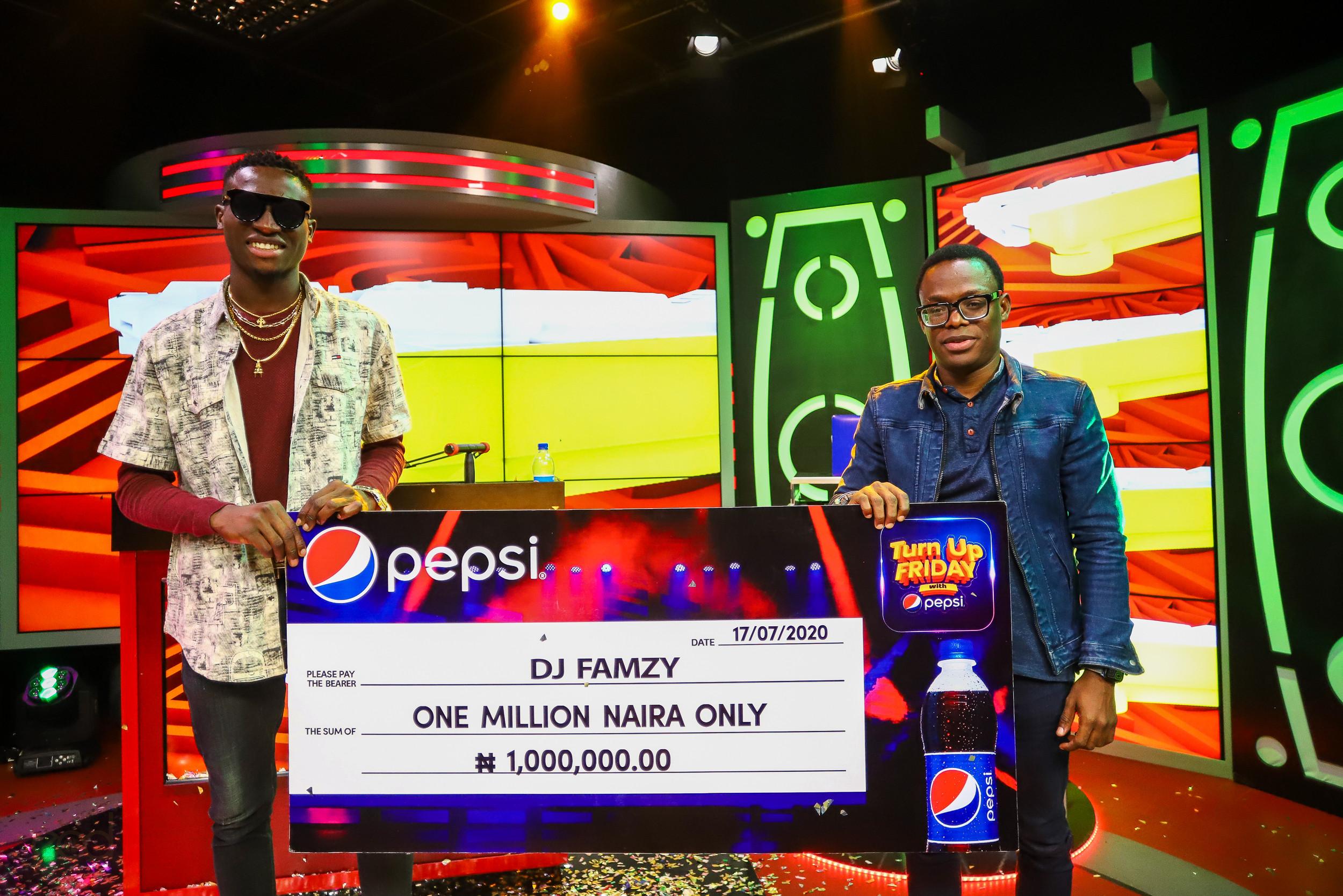 Introducing the latest DJ Superstar, DJ Famzy, Winner of Pepsi Upcoming DJ competition