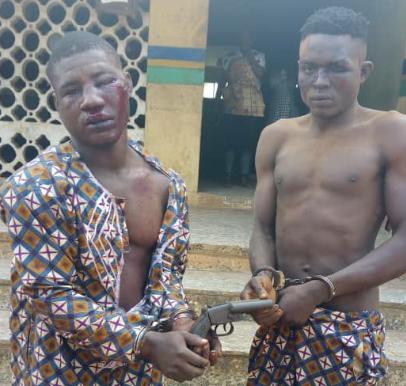Suspected motorcycle thieves apprehended in Ogun