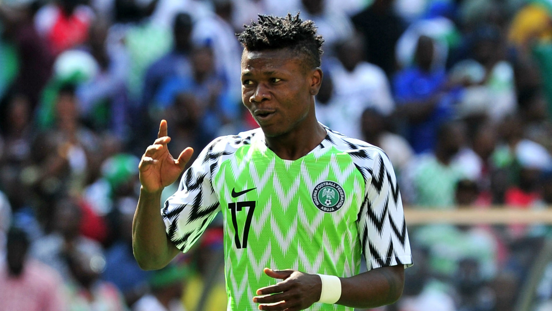 Super Eagles player, Samuel Kalu tests positive for Coronavirus