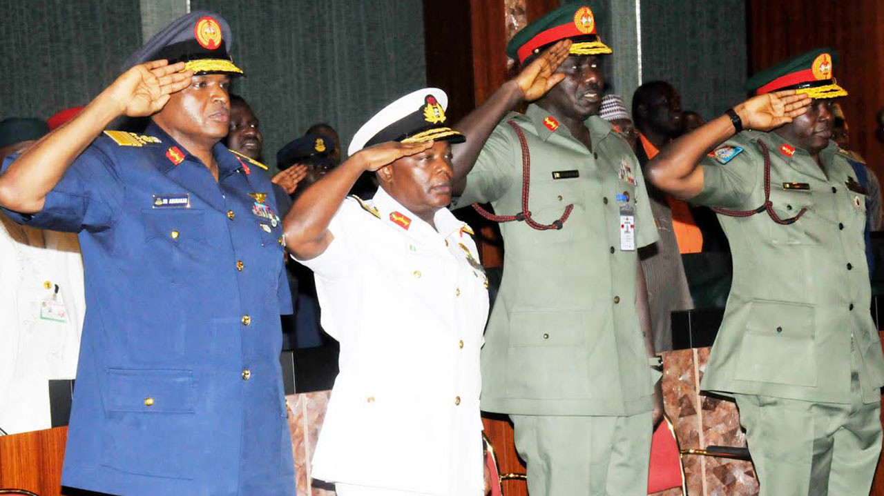 Senate asks service chiefs to resign