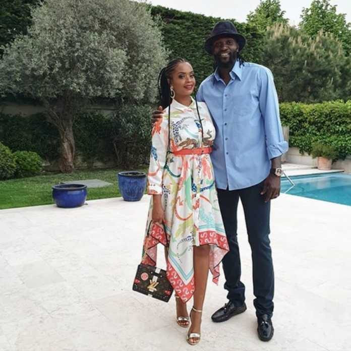 Emmanuel Adebayor and Dillish Mattews unfollow and delete each other