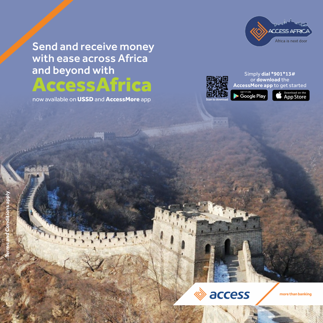 Send Money Far & Wide with the AccessMore App, Dial *901*13# Today