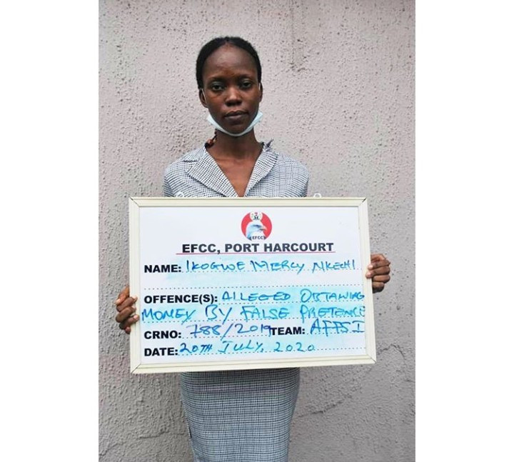 Woman allegedly defrauds victims of N179m then spends N1m on tithe and N139m on sport betting