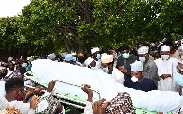Photos from the funeral of President Buhari