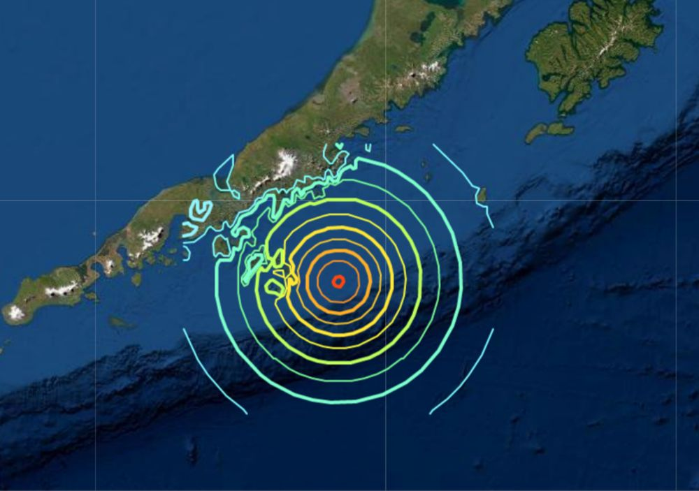 Powerful 7.8 earthquake hits Alaska isles
