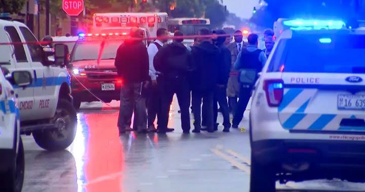 15 People wounded in mass shooting outside funeral home