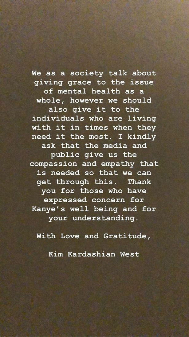 Kim Kardashian speaks on Kanye West