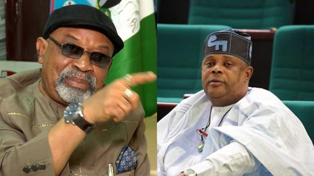 You are a small boy from Mushin - Minister of Labour, Chris Ngige drags Hon. Faleke (video)