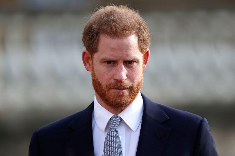 Prince Harry seen as