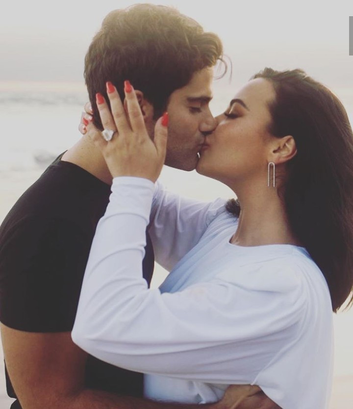 Demi Lovato announces engagement to actor Max Ehrich (photos)