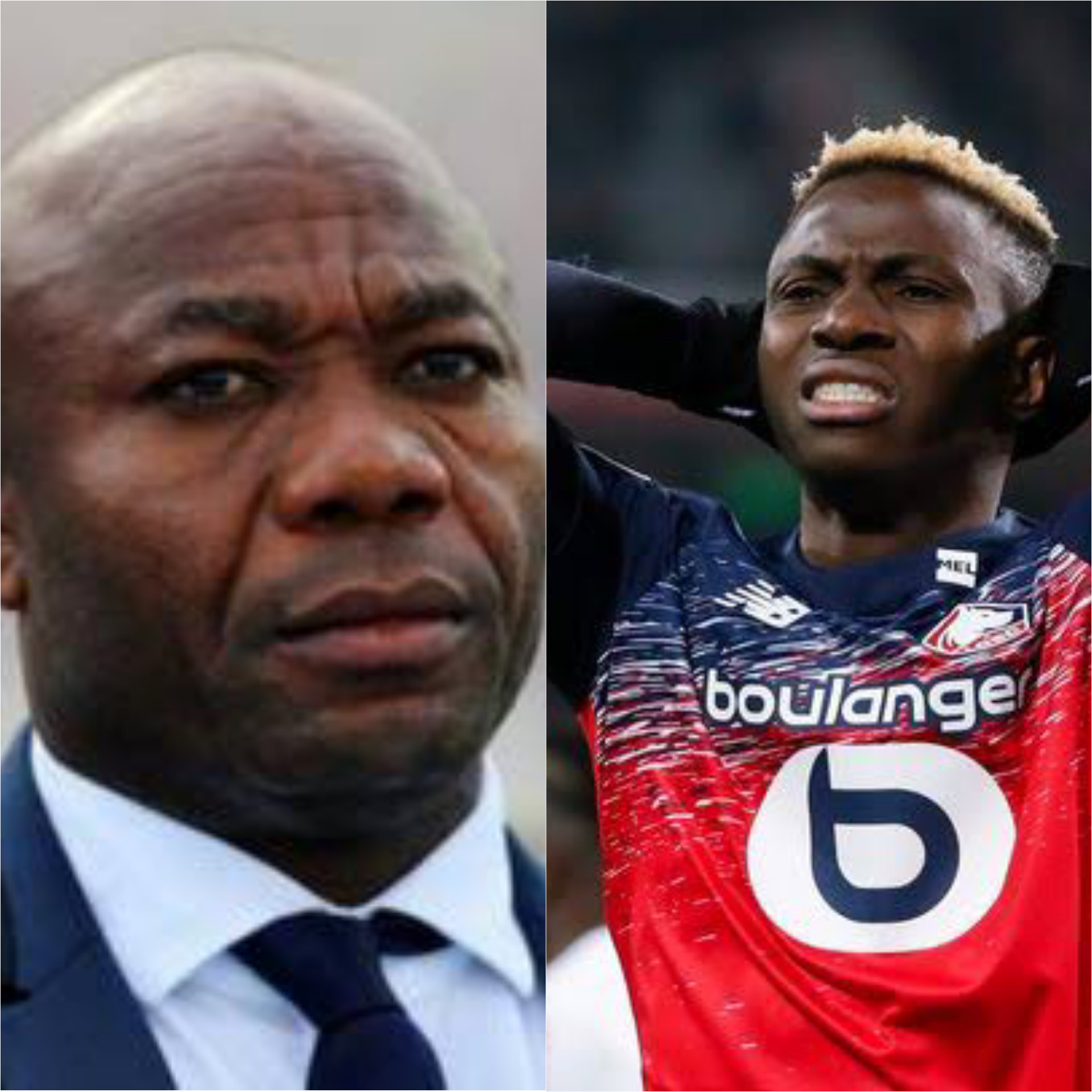 Victor Osimhen could be better than Didier Drogba - Emmanuel Amuneke