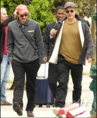 Brad Pitt?s friend, Saul Fletcher