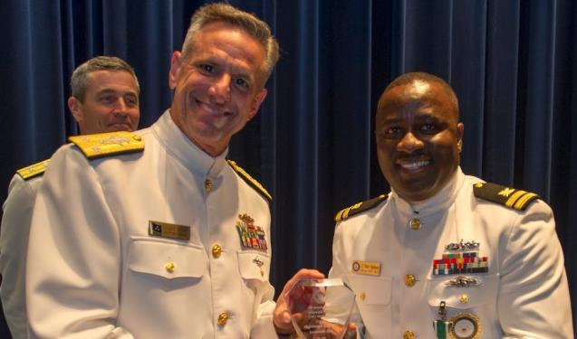 US Navy honours Nigerian man, Lt Victor Agunbiade for accountability