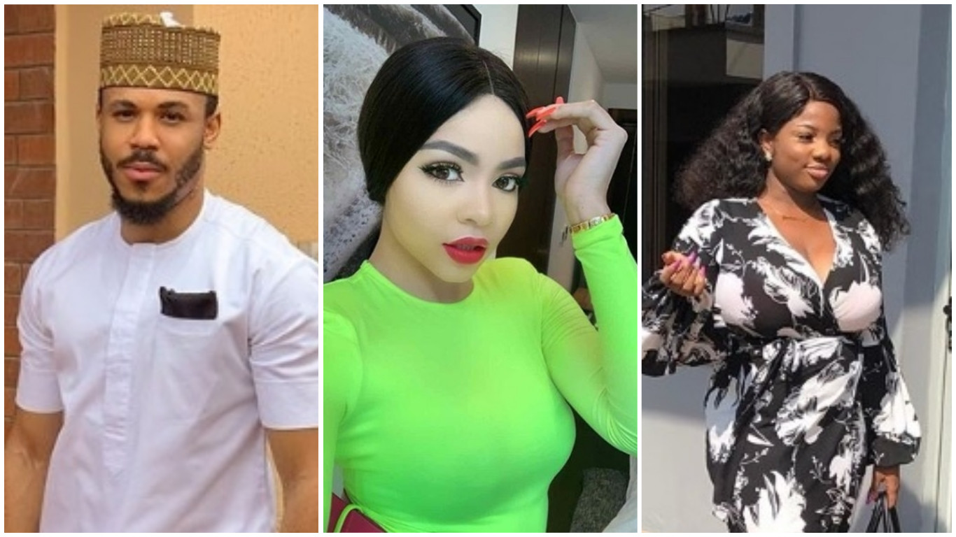 #BBNaija; Ozo curves Nengi as Dorathy insists on removing herself from their love triangle (videos)