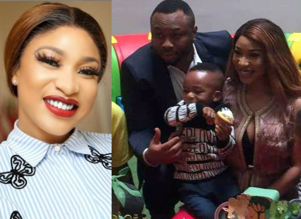 I have forgiven my ex-husband for the sake of my son- Tonto Dikeh (video)
