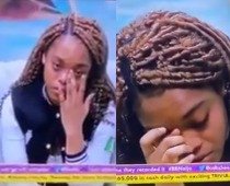 #BBNaija: Lilo weeps as she tells Big Brother her love interest, Eric, has become a distraction