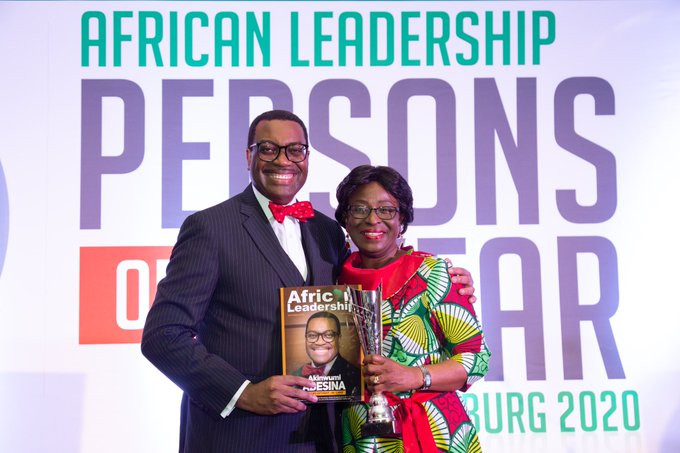 African Development Bank president, Akinwunmi Adesina and wife celebrate 36th wedding anniversary