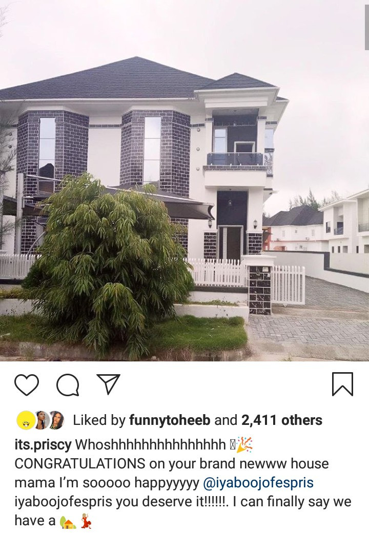 Iyabo Ojo acquires new house in Lekki County