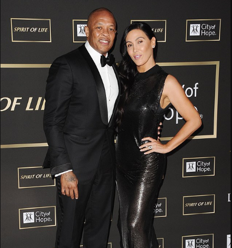 Dr.Dre responds to his wife Nicole Young