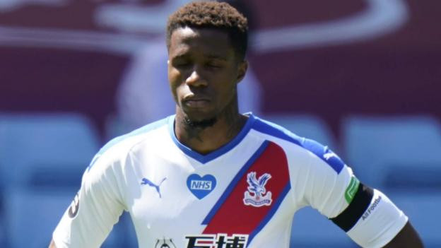 Crystal Palace winger, Wilfried Zaha claims black footballers are becoming scared to use social media because of racist abuse