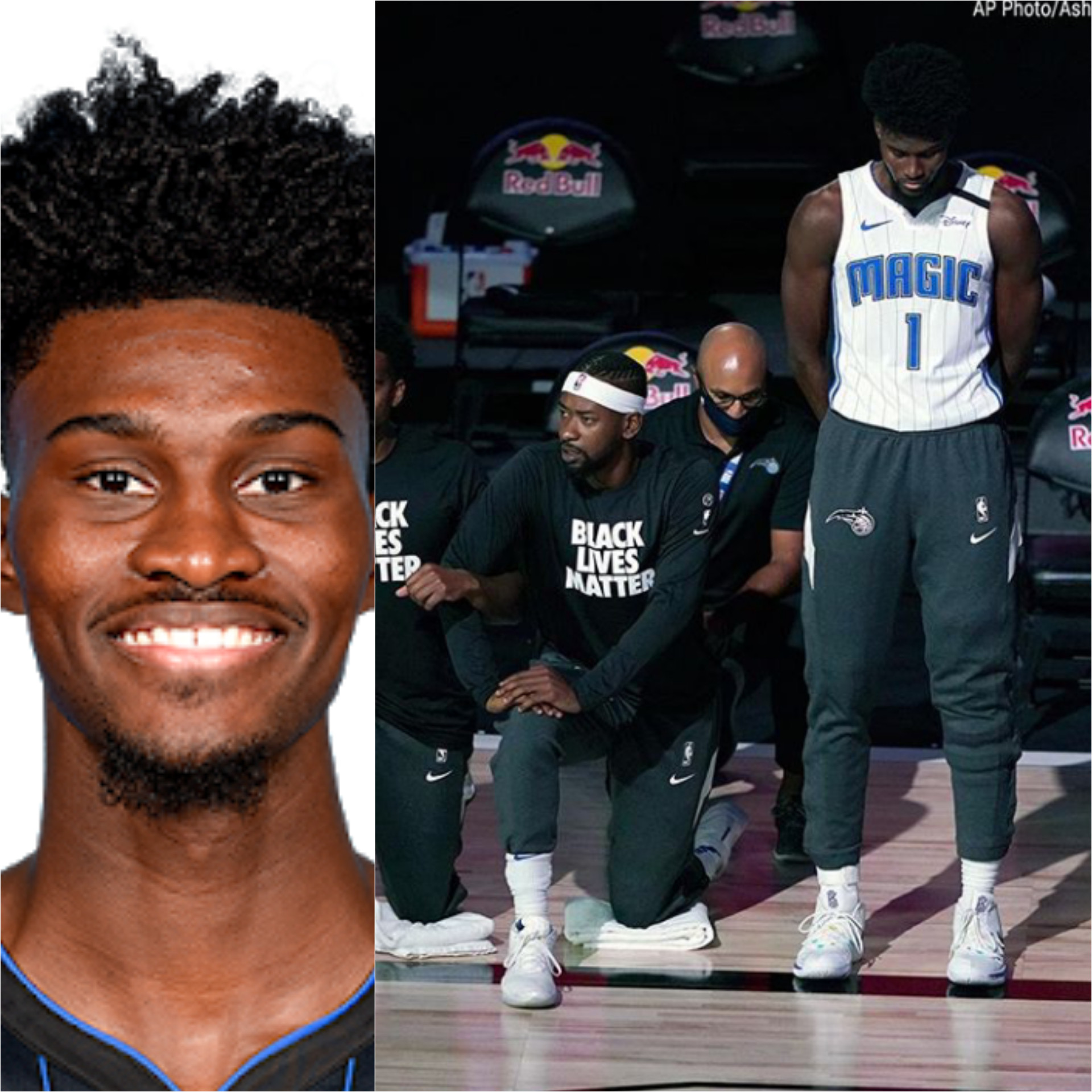 Basketballer Jonathan Isaac becomes first NBA player to refuse taking a knee and not?wear