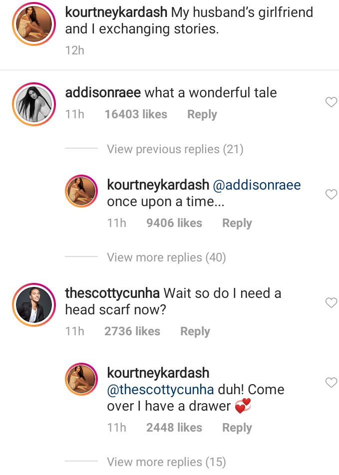 Fans react after Kourtney Kardashian labels ex Scott Disick as