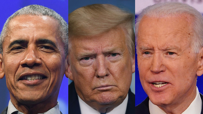 Trump says Obama can't help Biden win the US presidential election
