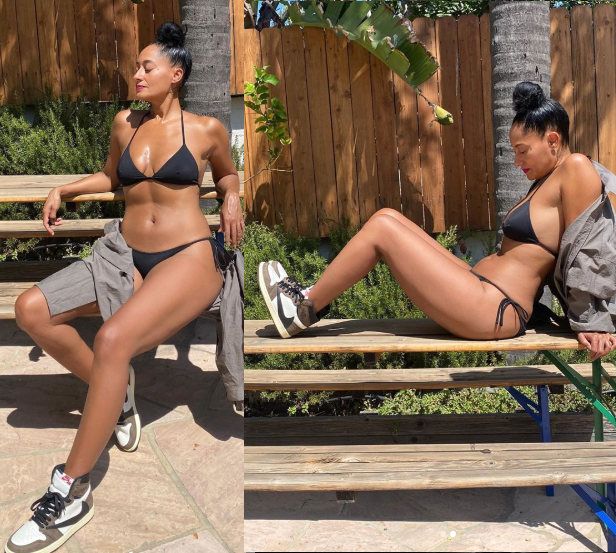 47-year-old Tracee Ellis Ross flaunts her incredible body in sexy bikini photos