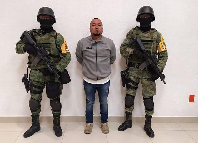 Mexican drug lord 'El Marro' is captured after years on the run