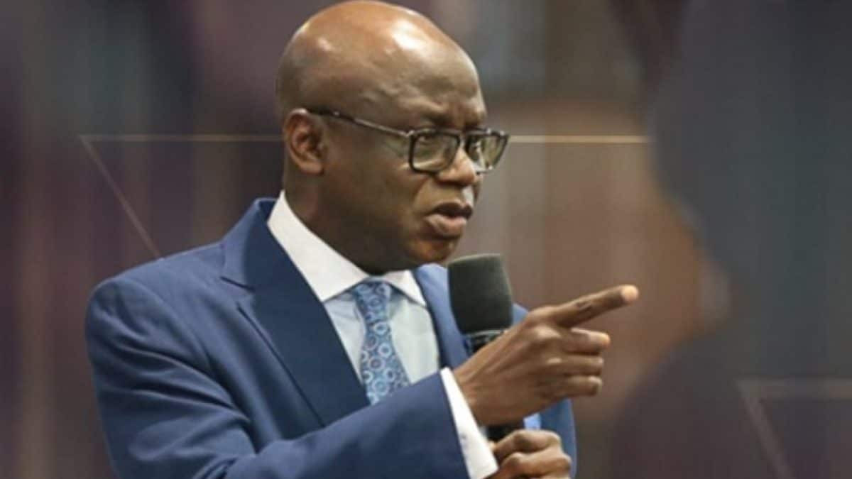 Pastor Tunde Bakare kicks against reopening of churches
