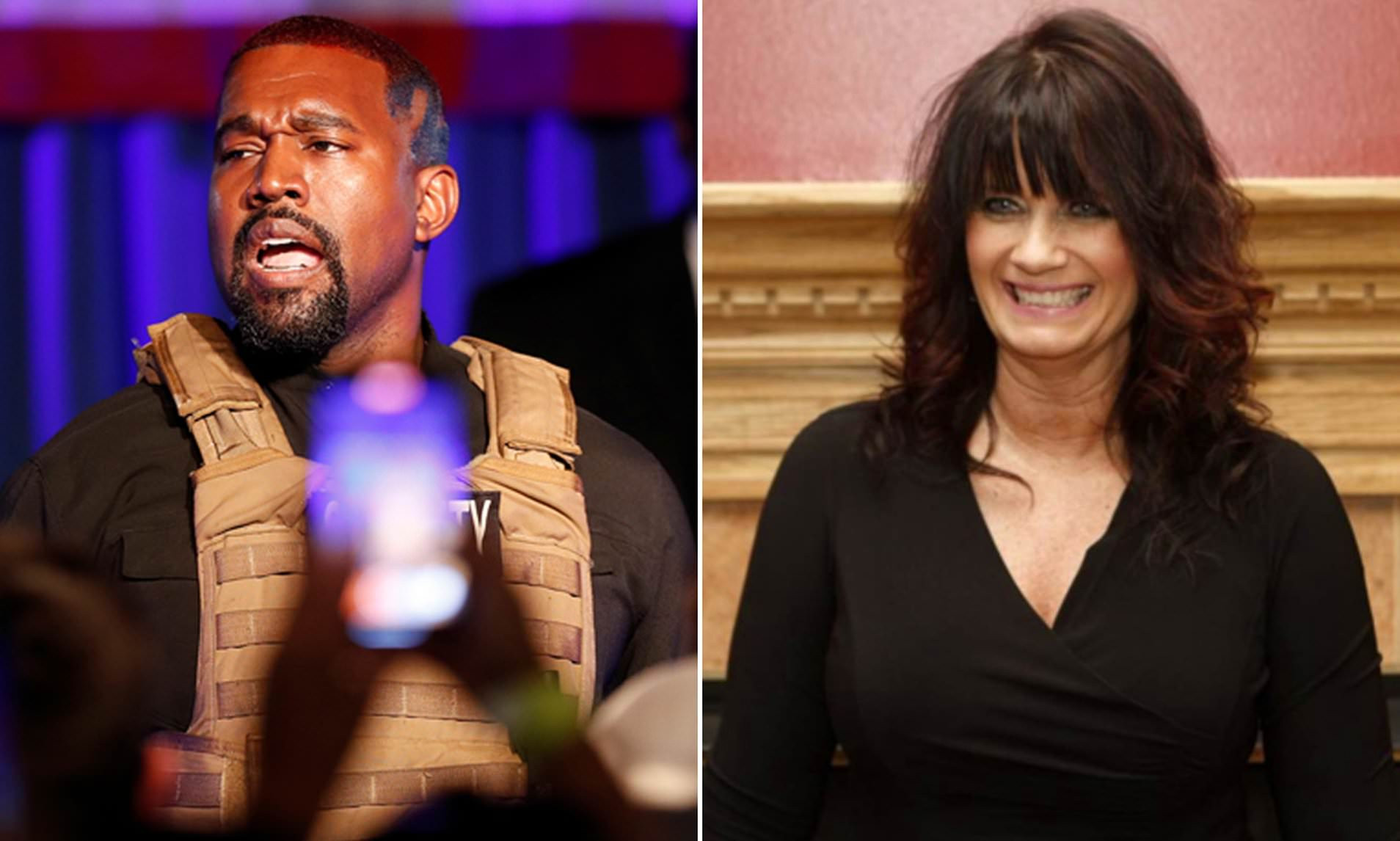 Kanye West officially lists Michelle Tidball as his vice President in ballot filing documents