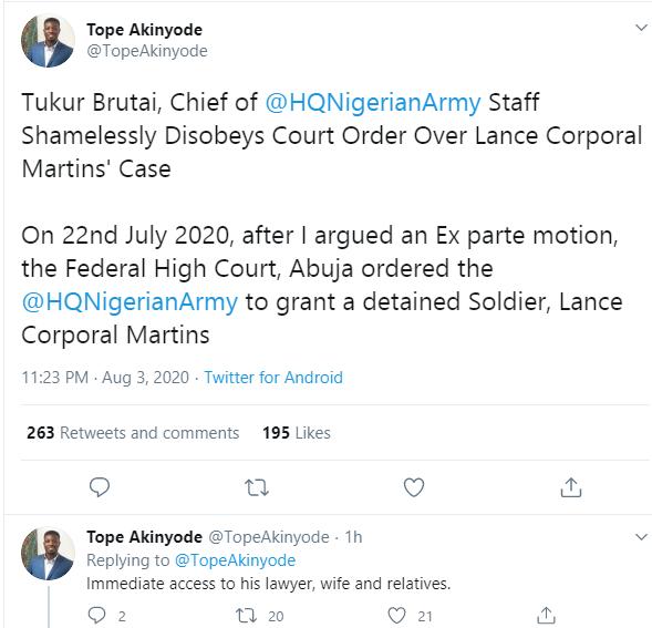 Buratai is waging a war on Nigeria