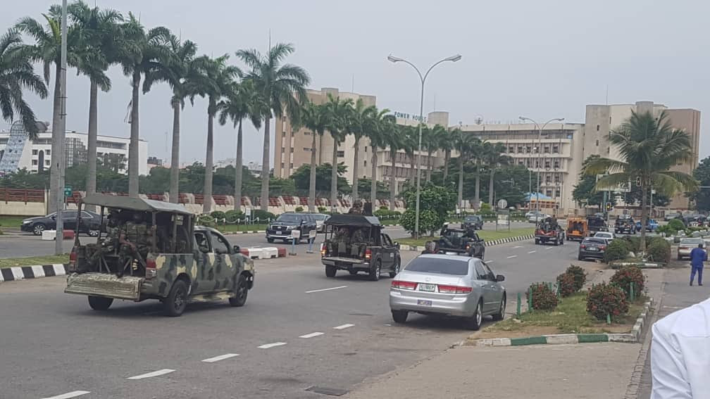 40 #RevolutionNow protesters arrested in Abuja (photos)