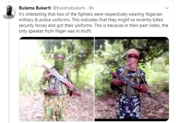 Boko Haram releases video of ?members observing Eid prayer in Niger state?