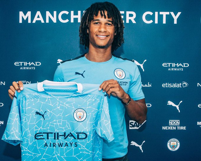 Manchester City confirm signing of defender Nathan Ake from Bournemouth in a £41m deal (photos)
