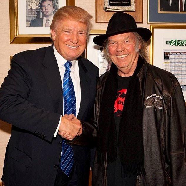 Rock & Roll legend Neil Young sues Trump