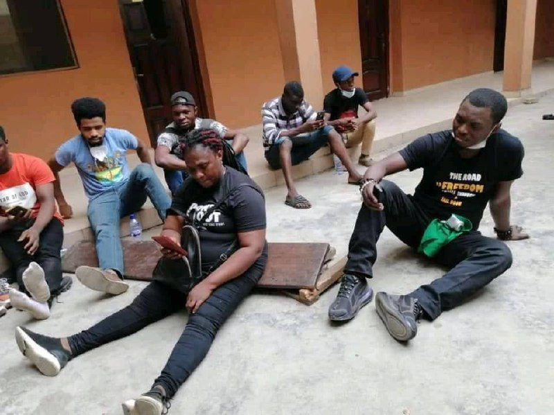 #RevolutionNow: Agba Jalingo re-arrested by Lagos police