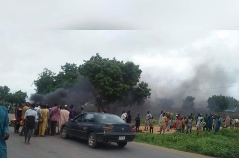Katsina youths stage protest over state of insecurity in the state (photos)