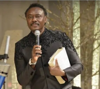 When a man is standing before God in church wearing a shield or mask, he is denying the finished work of the cross- Pastor Chris Okotie