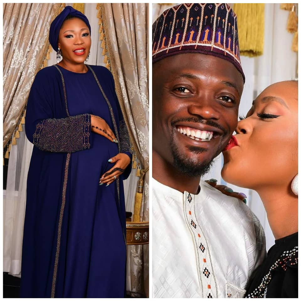 Nigerian Footballer, Ahmed Musa and wife, Julie welcome a baby boy